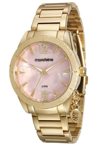 Relógio Mondaine Feminino - 76643LPMVDE1  - Dumont Online - Joias e Relógios