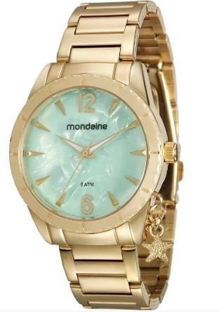Relógio Mondaine Feminino - 76643LPMVDE2  - Dumont Online - Joias e Relógios