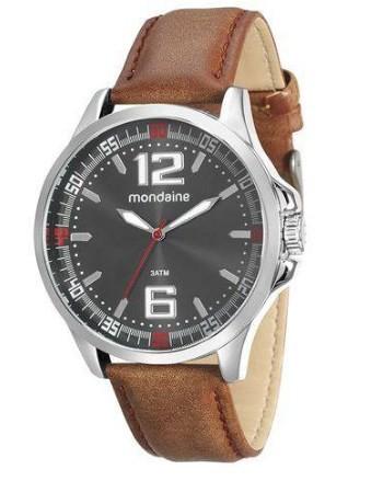 Relógio Mondaine Masculino - 76672G0MVNH1  - Dumont Online - Joias e Relógios