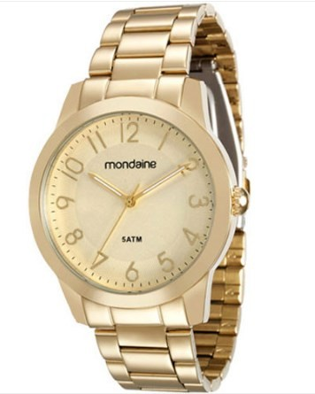 Relógio Mondaine Feminino - 78660LPMVDA1  - Dumont Online - Joias e Relógios