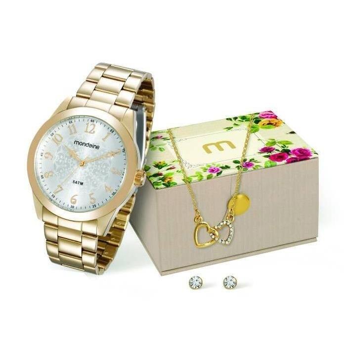 Relógio Mondaine Feminino - 78702LPMVDA1  - Dumont Online - Joias e Relógios