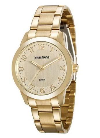 Relógio Mondaine Feminino - 78707LPMVDA1  - Dumont Online - Joias e Relógios