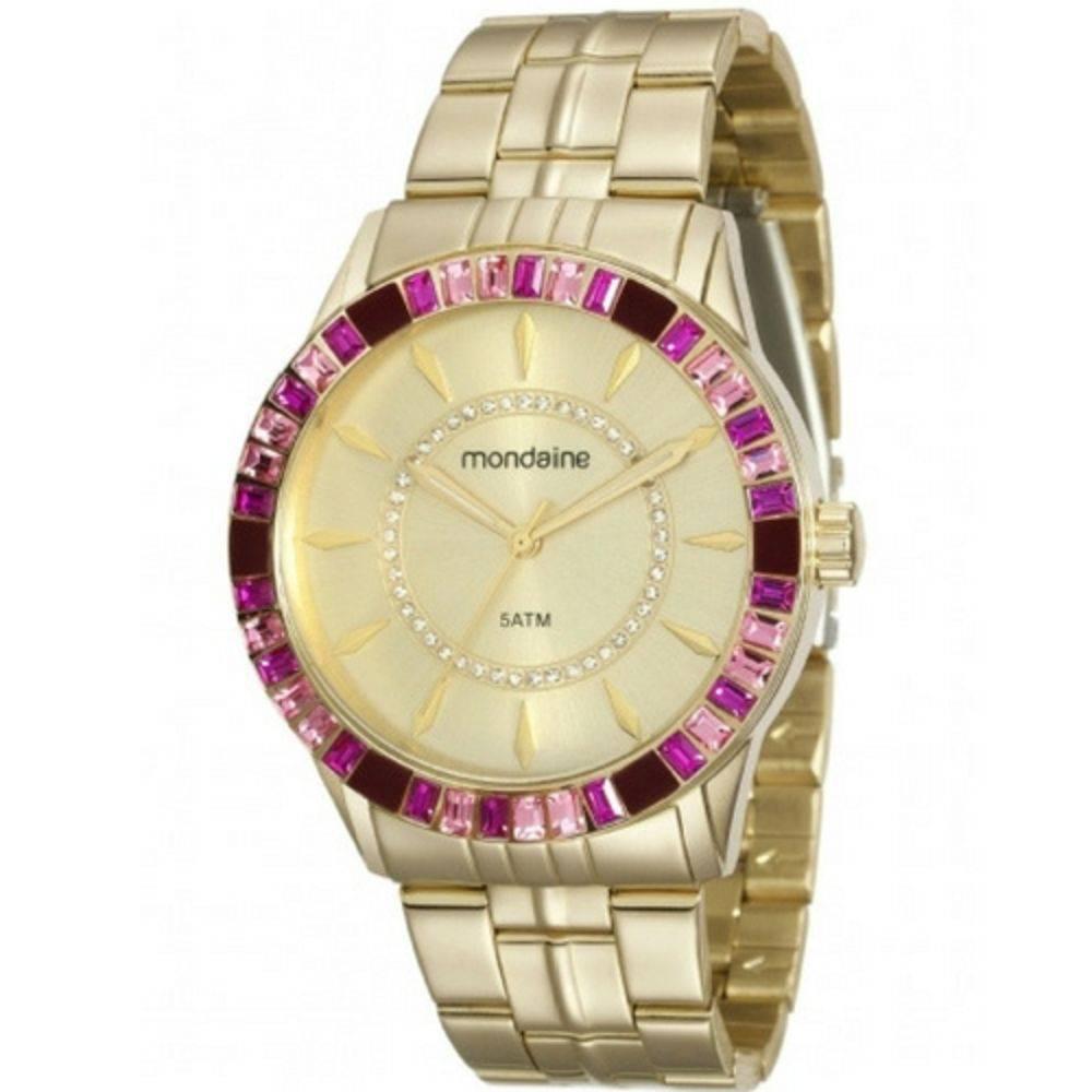 Relógio Mondaine Feminino - 78730LPMVDA4  - Dumont Online - Joias e Relógios