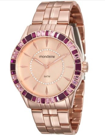 Relógio Mondaine Feminino - 78730LPMVRA3  - Dumont Online - Joias e Relógios