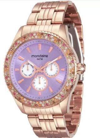 Relógio Mondaine Feminino - 78731LPMVRA3  - Dumont Online - Joias e Relógios