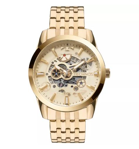 Relógio Technos Masculino - 8205NQ/4X  - Dumont Online - Joias e Relógios