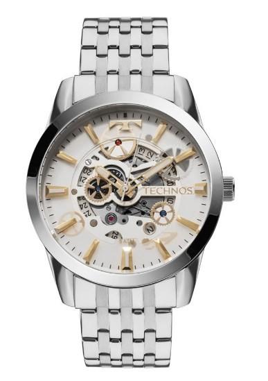 Relógio Technos Masculino Automático - 8205NR/1K  - Dumont Online - Joias e Relógios