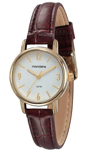 Relógio Mondaine Feminino - 83279LPMVDH1  - Dumont Online - Joias e Relógios