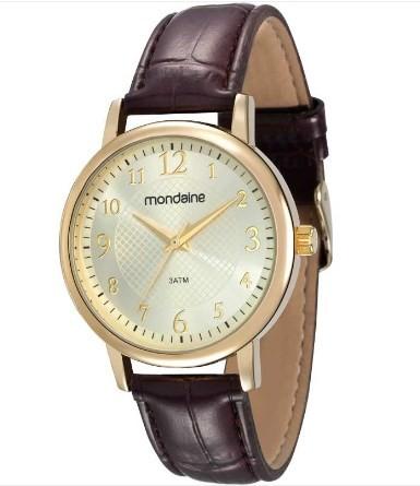 Relógio Mondaine Feminino - 83281LPMVDH1  - Dumont Online - Joias e Relógios