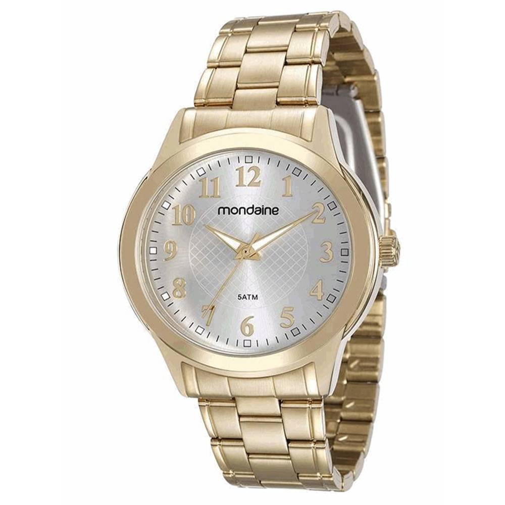 Relógio Mondaine Feminino - 83341LPMVDE1  - Dumont Online - Joias e Relógios