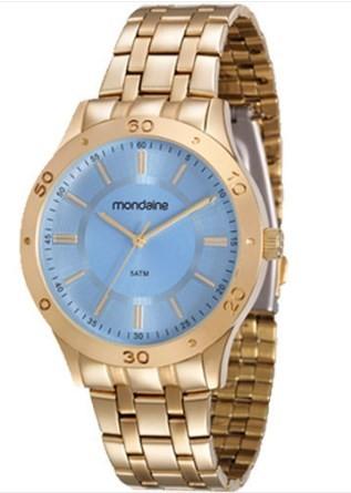 Relógio Mondaine Feminino - 83346LPMVDE1  - Dumont Online - Joias e Relógios