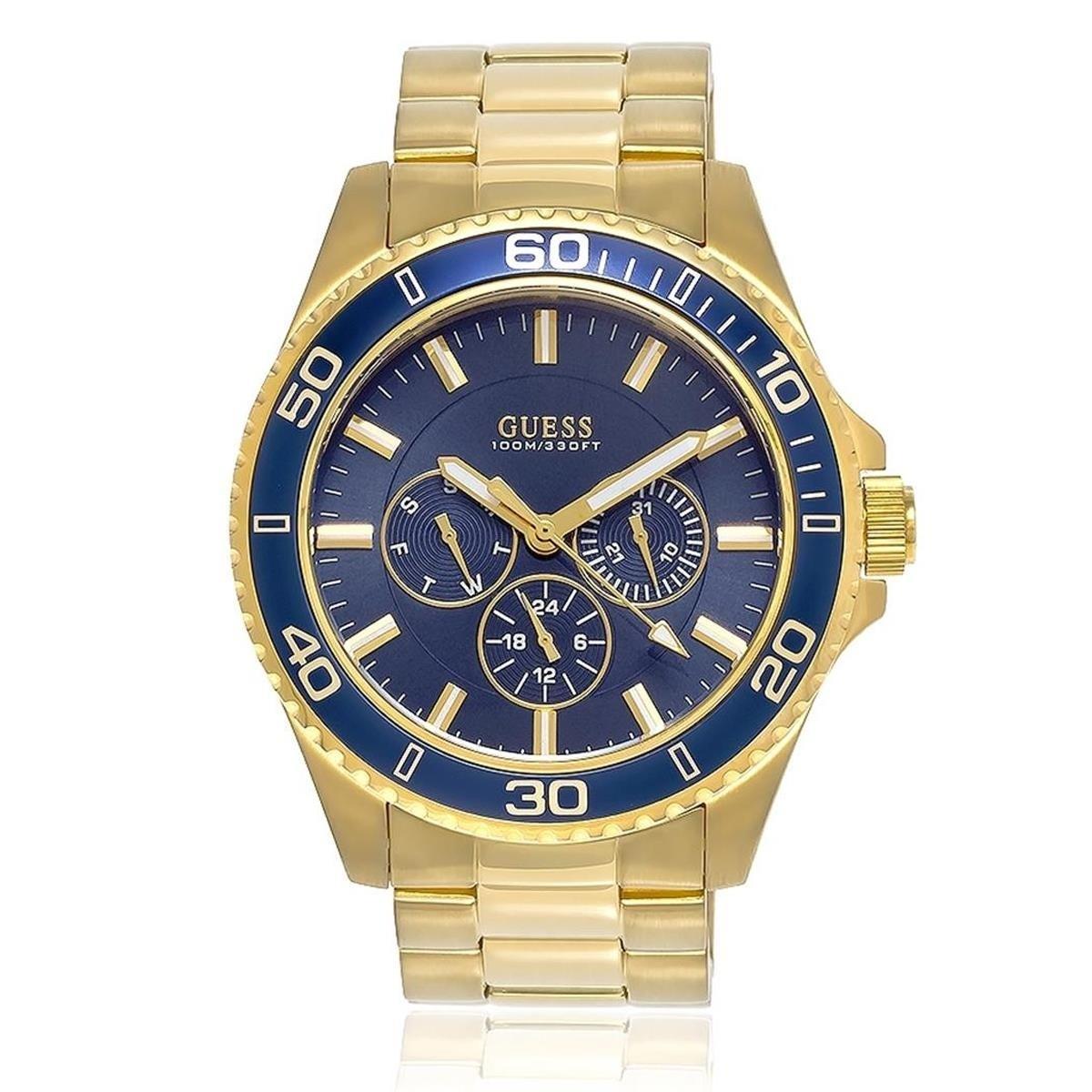 Relógio Guess Masculino - 92487GPGSDA5  - Dumont Online - Joias e Relógios