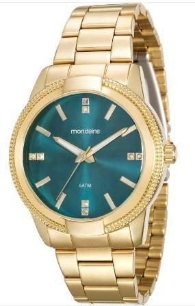 Relógio Mondaine Feminino - 94877LPMVDE1  - Dumont Online - Joias e Relógios