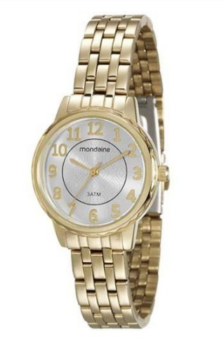 Relógio Mondaine Feminino - 94898LPMVDE1  - Dumont Online - Joias e Relógios