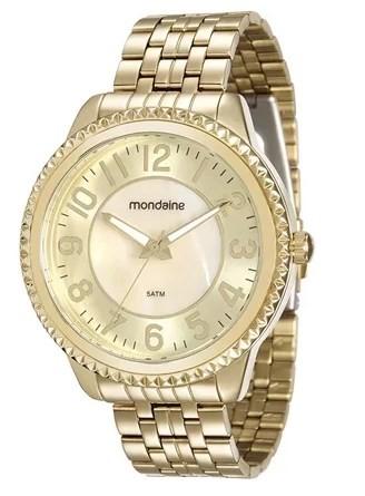 Relógio Mondaine Feminino - 94914LPMVDE1  - Dumont Online - Joias e Relógios
