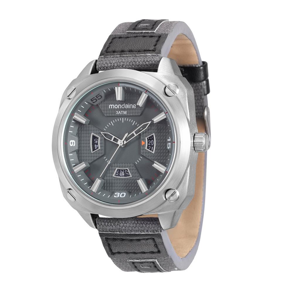 Relógio Mondaine Masculino - 94977G0MVNJ2  - Dumont Online - Joias e Relógios