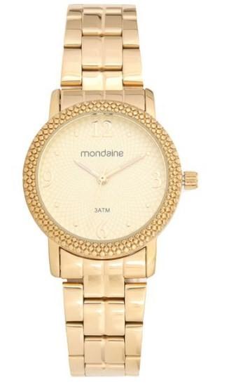 Relógio Mondaine Feminino - 94992LPMVDE1  - Dumont Online - Joias e Relógios