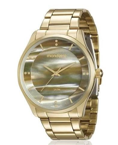 Relógio Mondaine Feminino - 99089LPMVDE2  - Dumont Online - Joias e Relógios
