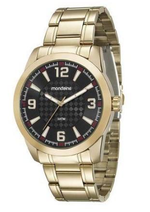 Relógio Mondaine Masculino - 99131GPMVDE3  - Dumont Online - Joias e Relógios