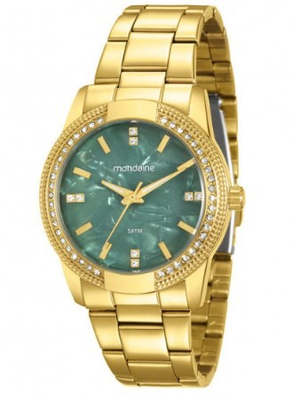 Relógio Mondaine Feminino - 99163LPMVDE1  - Dumont Online - Joias e Relógios