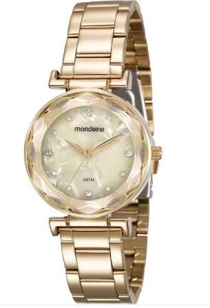 Relógio Mondaine Feminino - 99174LPMVDE1  - Dumont Online - Joias e Relógios