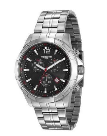 Relógio Mondaine Masculino - 99177G0MVNA2  - Dumont Online - Joias e Relógios