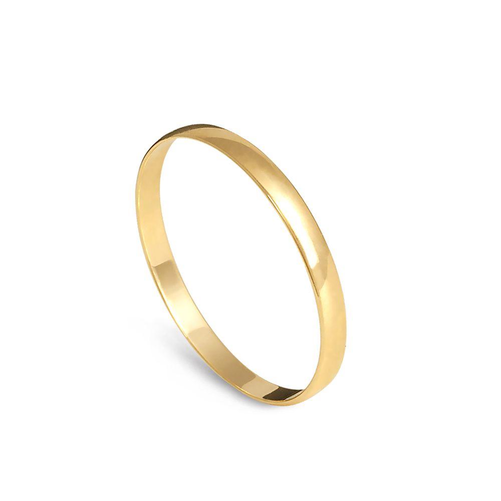 Aliança de Casamento Tradicional - Unidade  - Dumont Online - Joias e Relógios