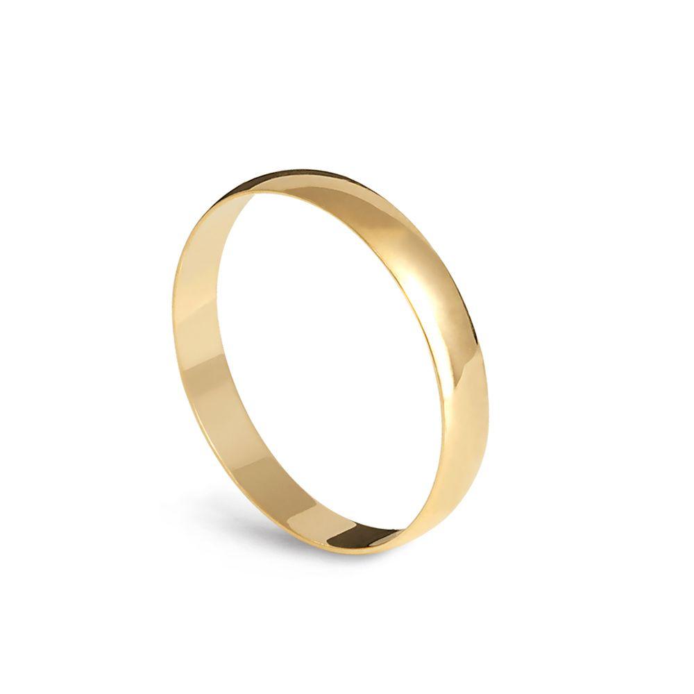 Alianças de Casamento Tradicional - Unidade  - Dumont Online - Joias e Relógios