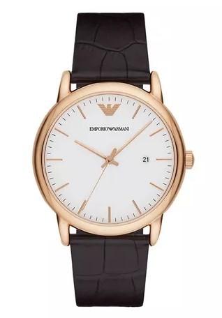 Relógio Emporio Armani Masculino - AR2502/2BN  - Dumont Online - Joias e Relógios