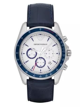 Relógio Emporio Armani Masculino - AR6096/0BN  - Dumont Online - Joias e Relógios