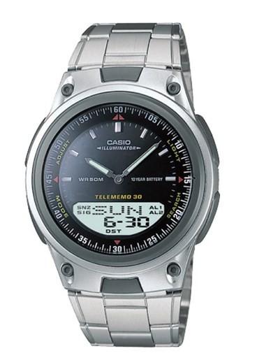 Relógio Casio Masculino - AW80D1AVDFU  - Dumont Online - Joias e Relógios