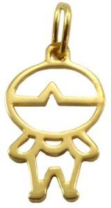 Pingente Boneco em Ouro Amarelo - Dumont Online - Joias e Relógios da5f6efce1