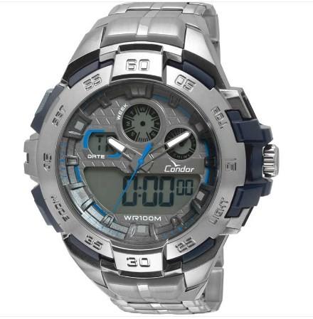 Relógio Condor Masculino - CO1154BR/3A  - Dumont Online - Joias e Relógios