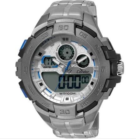 Relógio Condor Masculino - CO1154BR/3K  - Dumont Online - Joias e Relógios