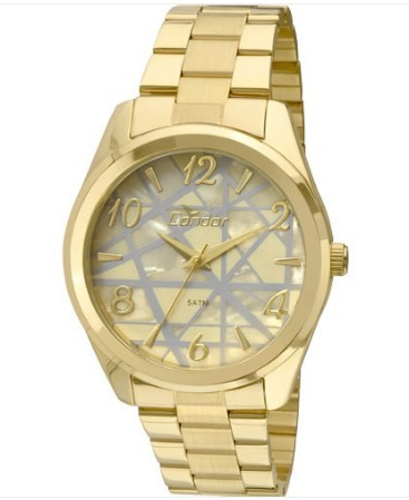 Relógio Condor Feminino - CO2035KLW/4X  - Dumont Online - Joias e Relógios