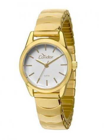 Relógio Condor Feminino Dourado - CO2035KMY/4K  - Dumont Online - Joias e Relógios