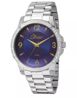 Relógio Condor Feminino - CO2035KON/3A  - Dumont Online - Joias e Relógios