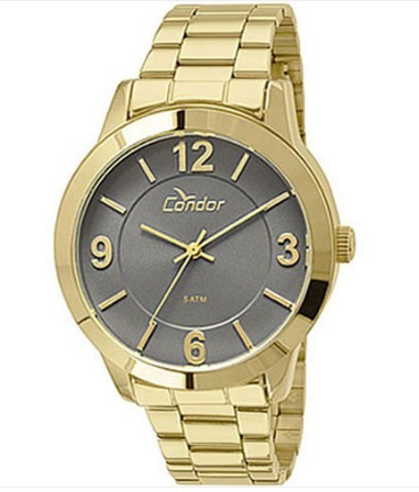 Relógio Condor Feminino - CO2035KOO/4C  - Dumont Online - Joias e Relógios