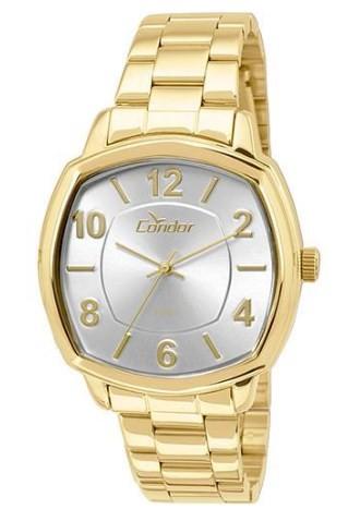Relógio Condor Dourado - CO2035KOR/4K  - Dumont Online - Joias e Relógios