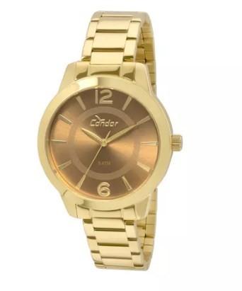 Relógio Condor Feminino - CO2035KQE/4X  - Dumont Online - Joias e Relógios