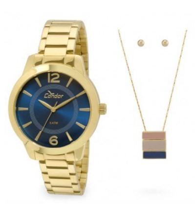 Relógio Condor Feminino - CO2035KQE/K4A  - Dumont Online - Joias e Relógios