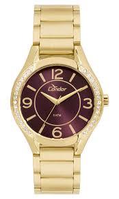 Relógio Condor Feminino - CO2035KRG/4G  - Dumont Online - Joias e Relógios