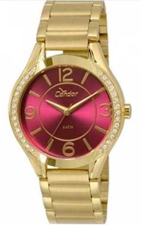 Relógio Condor Feminino - CO2035KRG/4N  - Dumont Online - Joias e Relógios