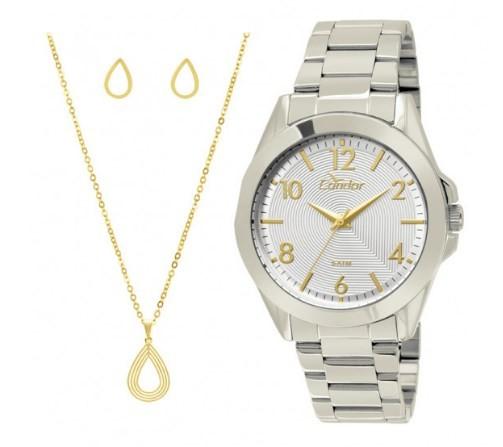 Relógio Condor Feminino - CO2035KSH/K3K  - Dumont Online - Joias e Relógios