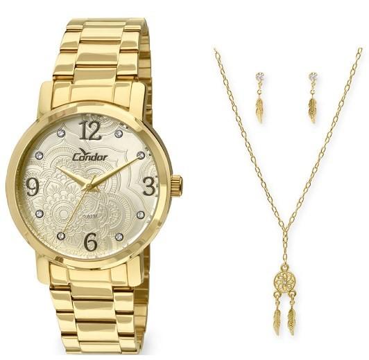 Relógio Condor Feminino - CO2036CO/K4D  - Dumont Online - Joias e Relógios