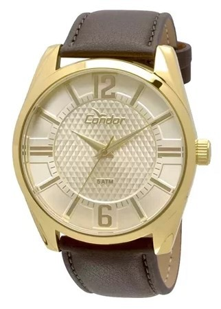 Relógio Condor Masculino - CO2036DI/2X  - Dumont Online - Joias e Relógios