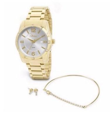 Relógio Condor Feminino - CO2115ST/4K  - Dumont Online - Joias e Relógios