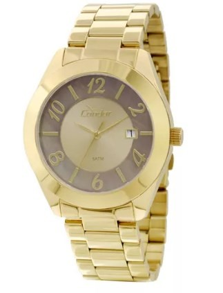 Relógio Condor Feminino - CO2115TE/4X  - Dumont Online - Joias e Relógios