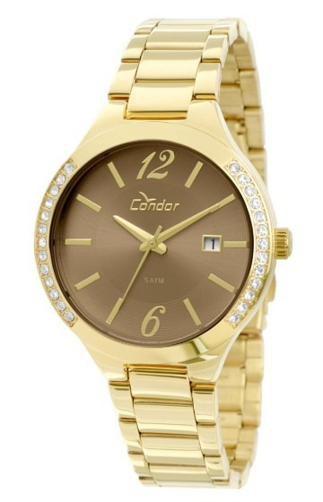 Relógio Condor Feminino - CO2115TO/4C  - Dumont Online - Joias e Relógios