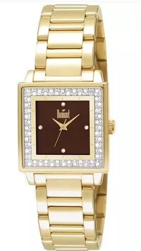 Relógio Dumont Feminino - DU2035LML/4M  - Dumont Online - Joias e Relógios